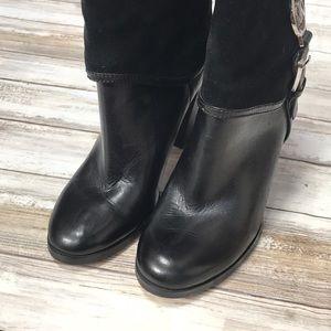 Michael Kors Shoes - 🖤🍁Michael Kors Velvet and Shiny Boots Worn Once